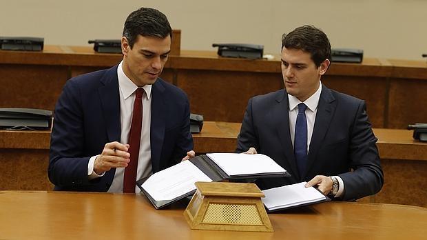 Acuerdo de Gobierno de PSOE u Ciudadanos y empleo público